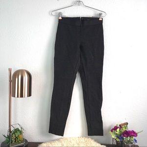 J.Crew heathered gray thick skinny leggings